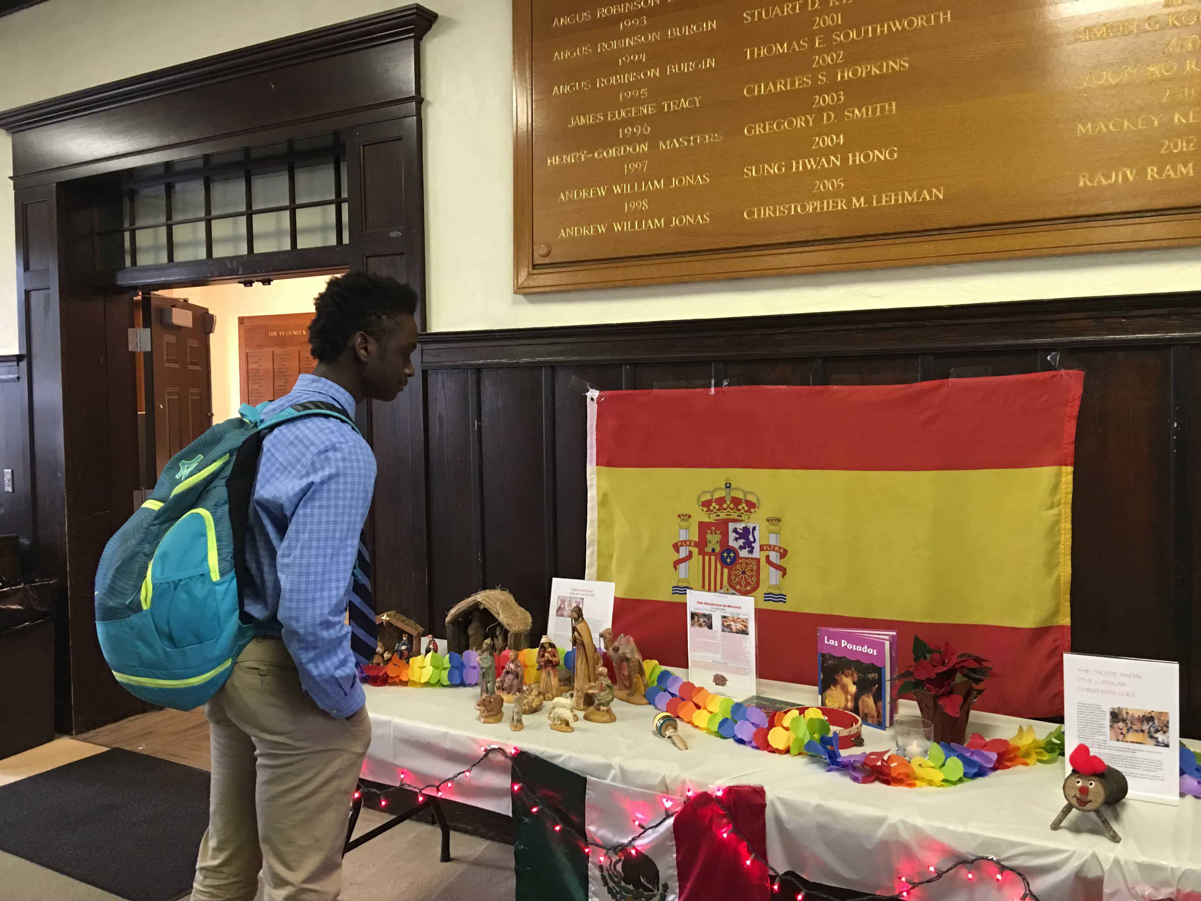 Spain Festival with Student