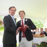 Ninth grade graduation ceremony