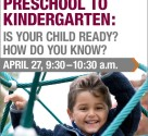 preschool to kindergarten is your child ready
