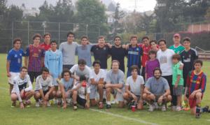 Fessy boys' soccer team