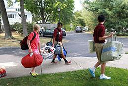 Boarding School Move-In