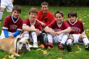Boys at Junior Boarding School, preparing for top boarding schools