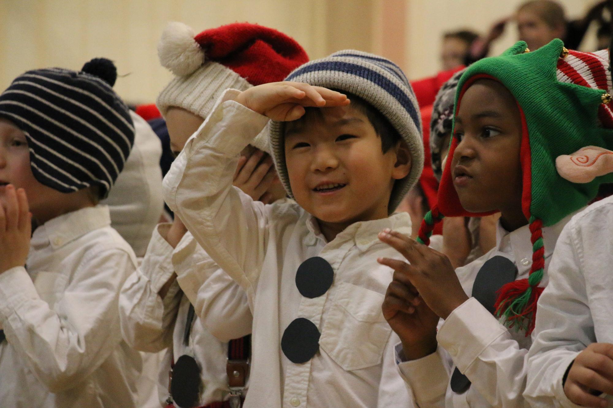 Fessenden Pre-K Christmas Concert